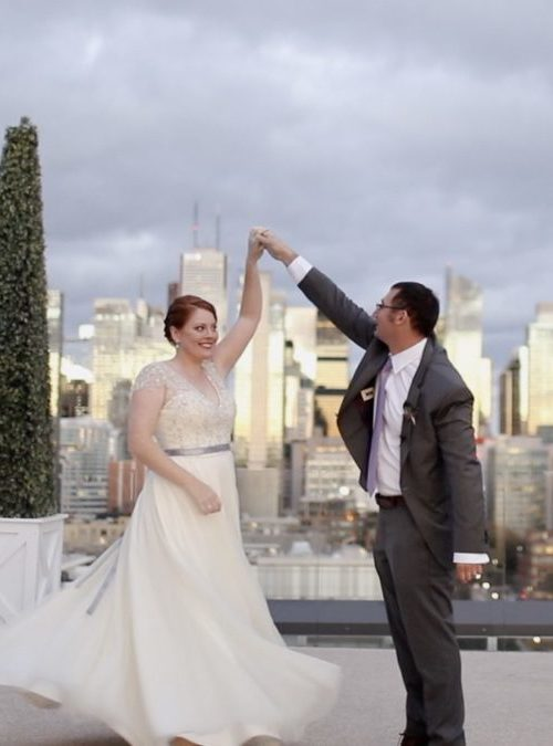 Toronto Rooftop Wedding Video