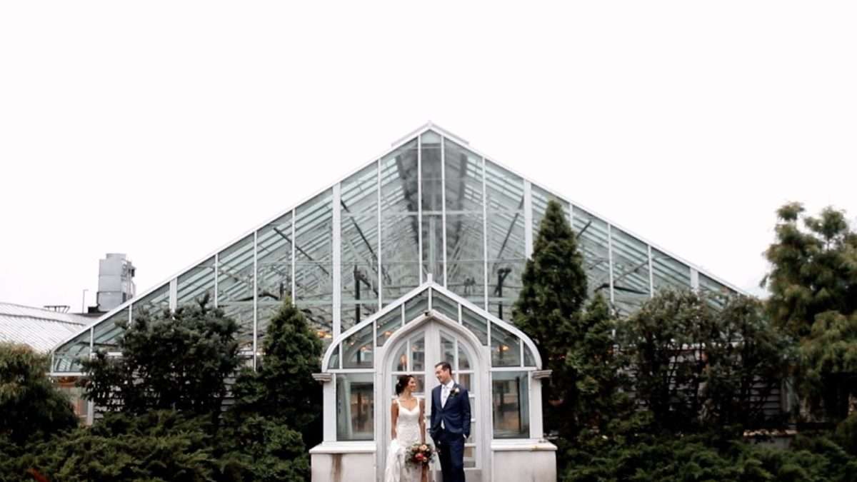 Ottawa Horticulture Building Wedding Video